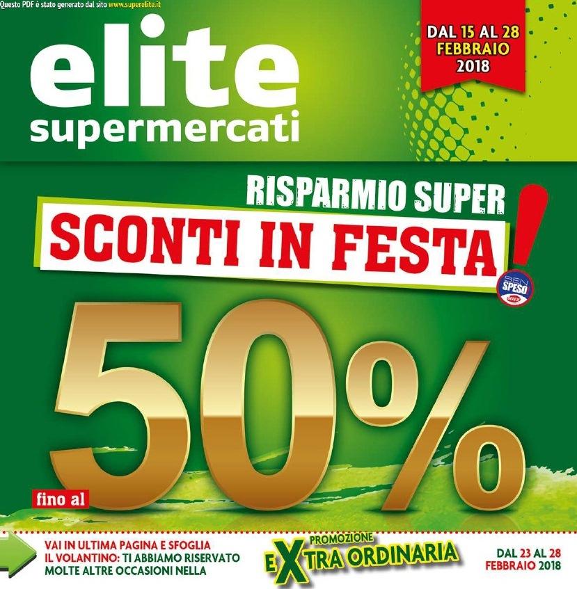 Volantino super elite 15 28 febbraio 2018 volantino az for Volantino super conveniente misterbianco