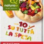 NaturaSi Offerte Marzo 2018