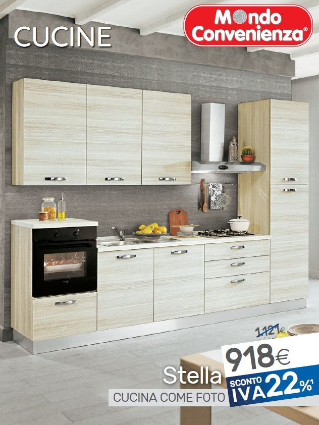 Volantino mondo convenienza cucine 2018 volantino az for Ingressi mondo convenienza