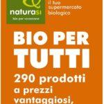 NaturaSi Bio per tutti al 28 Agosto 2018