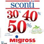Migross Sconti 14-27 Giugno 2018