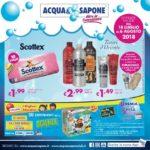 Acqua & Sapone 18 Luglio – 6 Agosto 2018