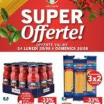 Lidl Super Offerte 20-26 Agosto 2018