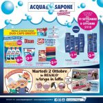 Acqua & Sapone 19 Settembre – 8 Ottobre 2018