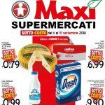 Maxi Supermercati 6-15 Settembre 2018