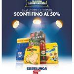 Esselunga SCONTI FINO AL 50% 25 Ottobre – 3 Novembre 2018
