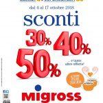 Migross Supermercati Sconti 4-17 Ottobre 2018