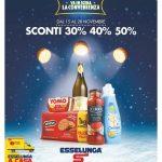 Esselunga SCONTI 30% 40% 50% 15-28 Novembre 2018