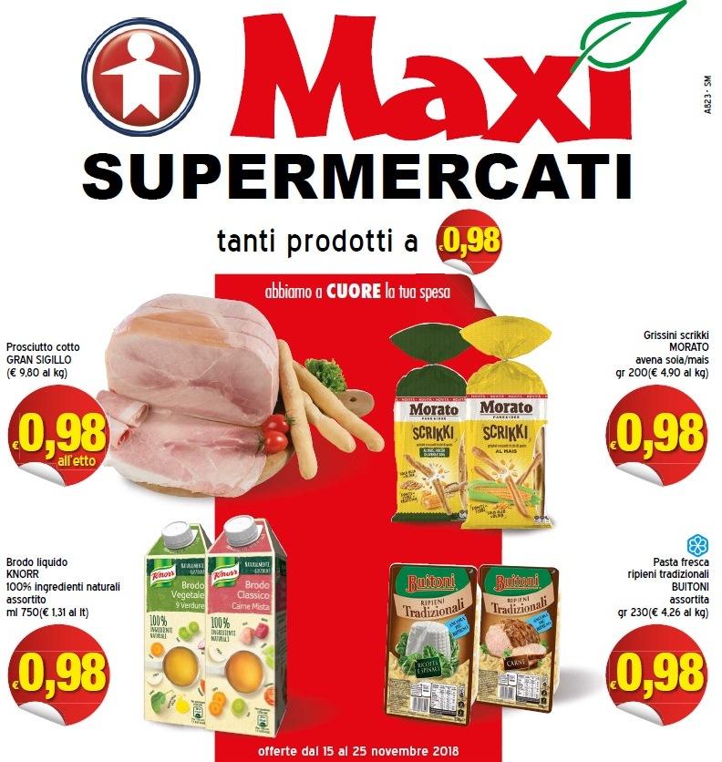 Volantino maxi supermercati 15 25 novembre 2018 volantino az - Volantino ricci casa ...
