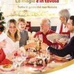 Auchan La magia e in tavola 5-31 Dicembre 2018