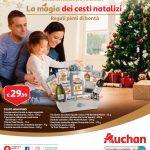 Auchan Magia dei cesti natalizi al 24 Dicembre 2018