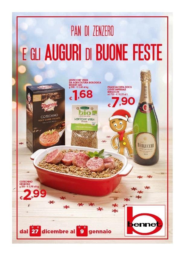Volantino bennet buone feste al 9 gennaio 2019 volantino az - Volantino ricci casa ...
