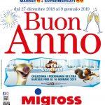 Migross Supermercati & Market al 9 Gennaio 2019