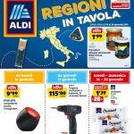 Aldi Regioni in Tavola 14-20 Gennaio 2019