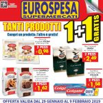 Eurospesa Tanti Prodotti al 9 Febbraio 2019