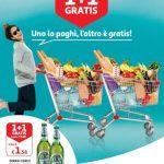 Auchan Uno paghi, l'altro gratis 1-10 Marzo 2019