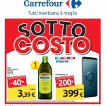 Carrefour Sottocosto 26 Marzo – 4 Aprile 2019