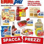 EMMEPIU Spacca Prezzi al 6 Marzo 2019