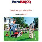 Euro Brico MACCHINE AL-KO A BATTERIA 2019
