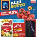 ALDI Sconti fino al 50% 1-7 Aprile 2019