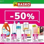 Basko Sconto 50% al 8 Maggio 2019