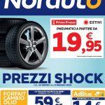 Norauto Prezzi Shock al 8 Maggio 2019