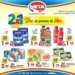 META Due al prezzo di Uno 02-14 Maggio 2019