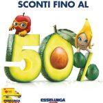 Esselunga SCONTI FINO AL 50% al 12 Giugno 2019