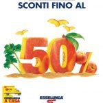 Esselunga SCONTI FINO 50% al 10 Luglio 2019