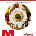 Migross Supermercati 25 Luglio – 7 Agosto 2019
