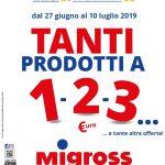 Migross Supermercati e Market al 10 Luglio 2019