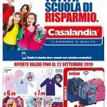 Casalandia Tutti a Scuola di Risparmio al 22 Settembre 2019