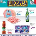 Eurospesa Prosciutto cotto al 7 Settembre 2019