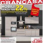 Granbrico Mobili Senza IVA 22% al 23 Settembre 2019