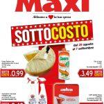 Maxi Supermercati al 11 Settembre 2019