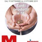 Migross Supermercati 19 Settembre – 2 Ottobre 2019