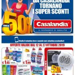 Casalandia Super Sconti 12-27 Ottobre 2019