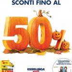 Esselunga Sconti Fino Al 50% 23 Ottobre – 2 Novembre 2019