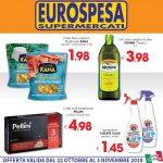Eurospesa 22 Ottobre – 3 Novembre 2019