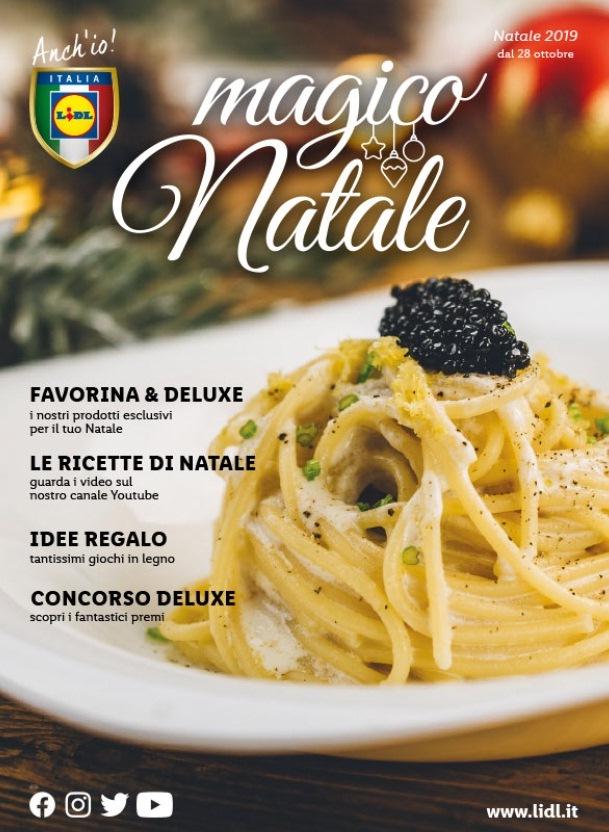 Volantino Lidl Italia Magico Natale 2019 - Volantino-AZ