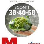 Migross Superstore 3-16 Ottobre 2019