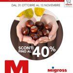 Migross Supermercati al 13 Novembre 2019