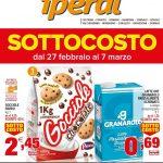 Iperal Sottocosto latte UHT al 7 Marzo 2020