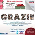 Acqua & Sapone al 10 Maggio 2020