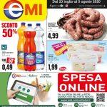 EMI Supermercati 21 Luglio – 5 Agosto 2020