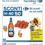 Carrefour Sconti 19 – 27 Agosto 2020