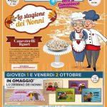 Acqua & Sapone La Stagione dei Nonni al 11 Ottobre 2020