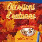 Sirene Blu Occasioni d'autunno Ottobre 2020