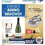 Carrefour Benvenuto Anno Nuovo al 6 Gennaio 2021
