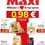 Maxi Supermercati al 10 Febbraio 2021